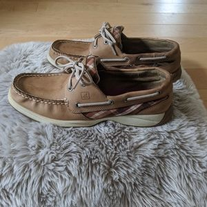 SPERRY - Plaid Angelfish Boat Shoes